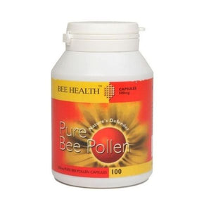 Bee Health Pure Bee Pollen 100 Capsules