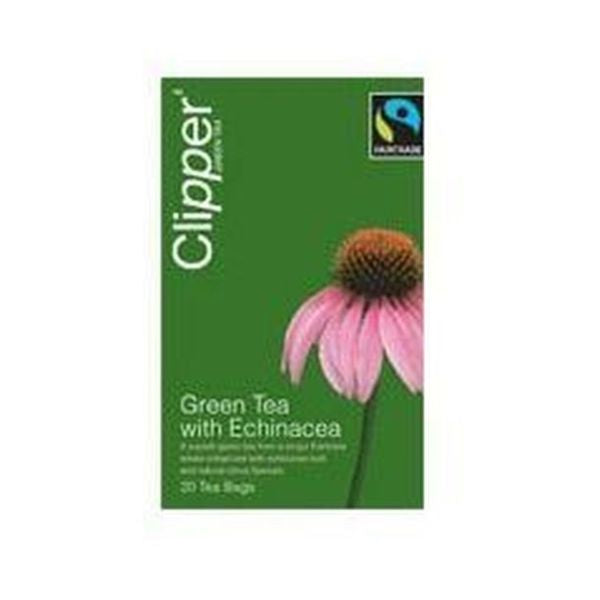 Clipper Green Tea & Echinacea With Citrus 20 Teabags