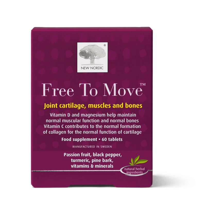 New Nordic - New Nordic Free to Move (60 Tablets)