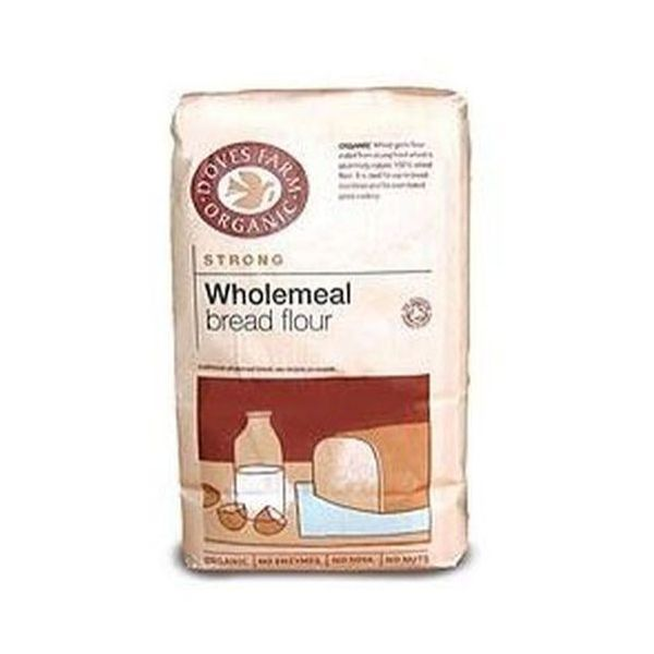 Doves Farm - Doves Farm Organic 100% Strong Wholemeal Bread Flour (1.5kg x 5)