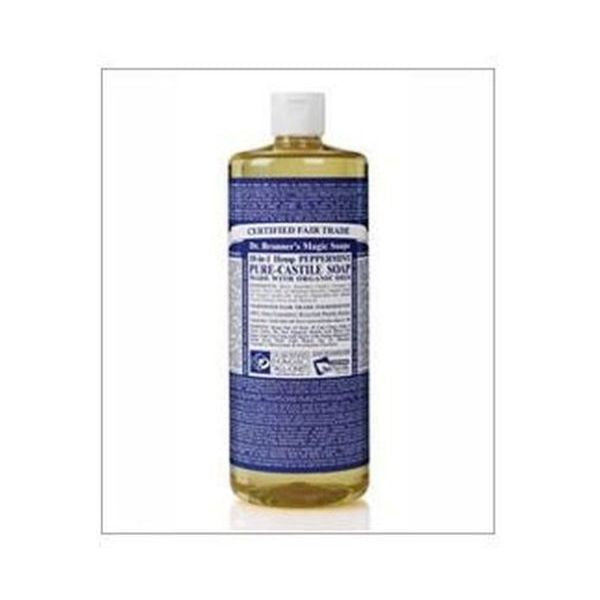 Dr Bronners Organic Peppermint Pure-Castile Liquid Soap 946ml
