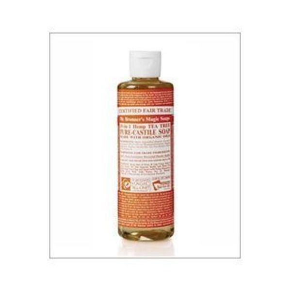Dr Bronners Organic Tea Tree Castile Liquid Soap