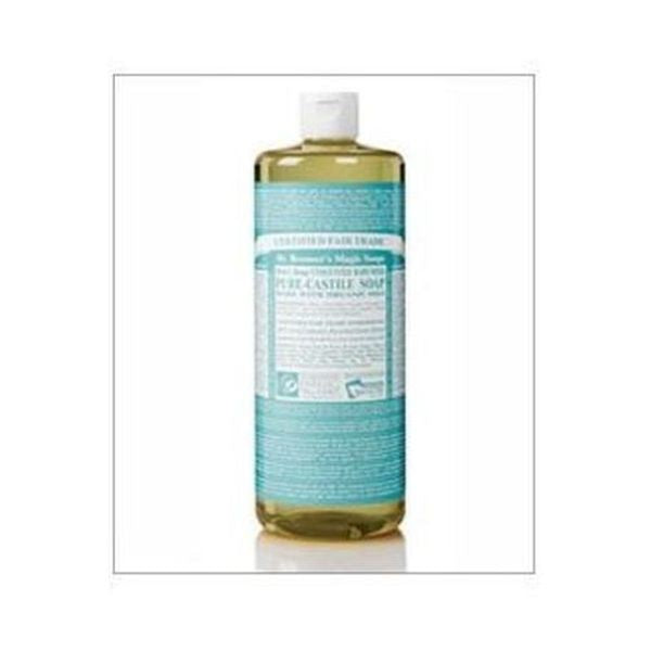 Dr Bronners Organic Baby Unscented Pure-Castile Liquid Soap 946ml