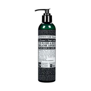 Dr Bronners Organic Patchouli Lime Lotion 236ml