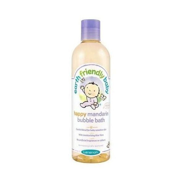 Earth Friendly Baby Organic Happy Mandarin Bubblebath 300ml