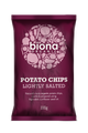 Biona Organic Potato Chips - Himalayan Pink Salt - Lightly Salted 100g x 12