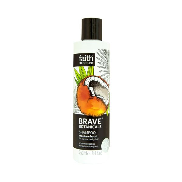 Faith In Nature Moisture Boost Shampoo Coconut & Frangipani 250ml