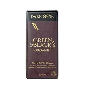 Green & Black'S Organic Dark Bar 85% Cocoa Solids 100g x 15