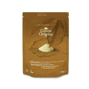 Green Origins Organic Baobab Powder (Raw) 150g