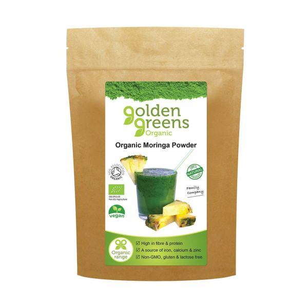 Golden Greens Organic Organic Moringa Powder 200g