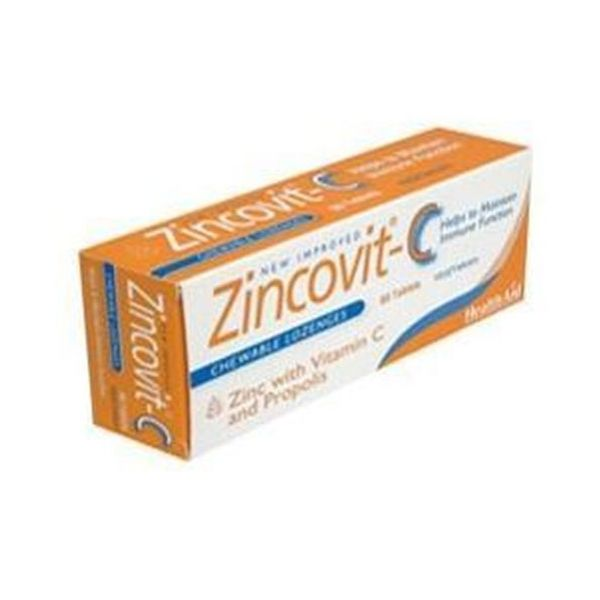 Health Aid Zincovit - C 60 Tablets