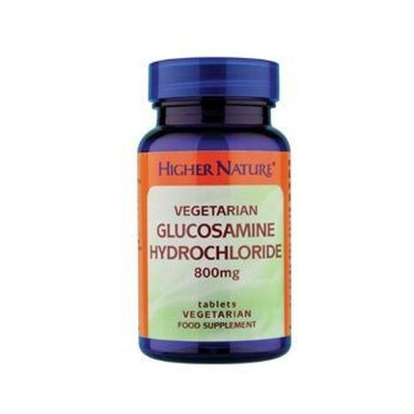Higher Nature Vegetarian Glucosamine Hydrochloride 90 Tablets