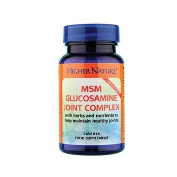 Higher Nature Msm Joint Complex 90 Tablets