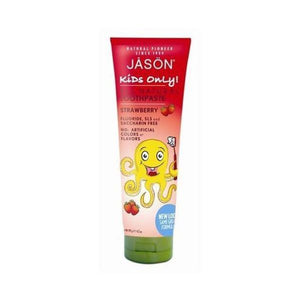 Jason Bodycare Earths Best Organic Kids Strawberry Toothpaste 119g