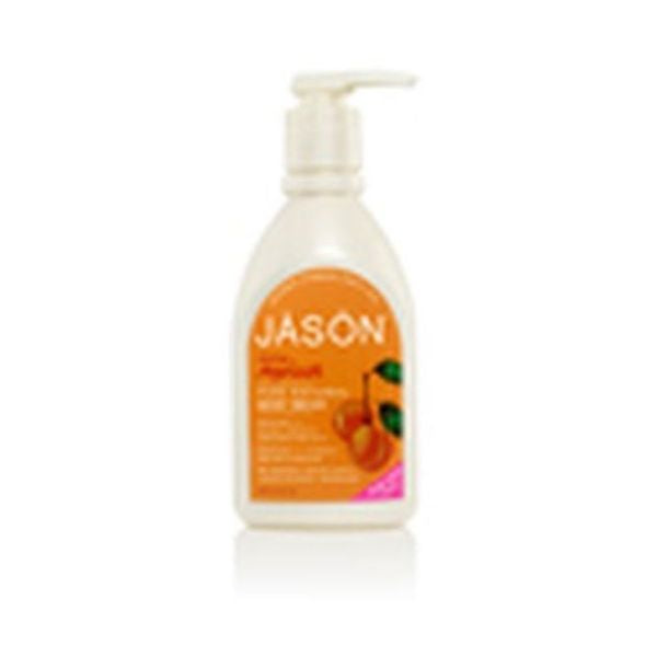 Jason Bodycare Apricot Satin Body Wash With Pump 900ml