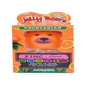 Jelly Bears Orange Zinc 60 x2g