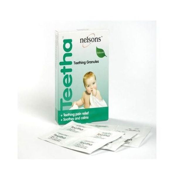 Nelsons Teetha Natural Teething Granules - 24 Sachets