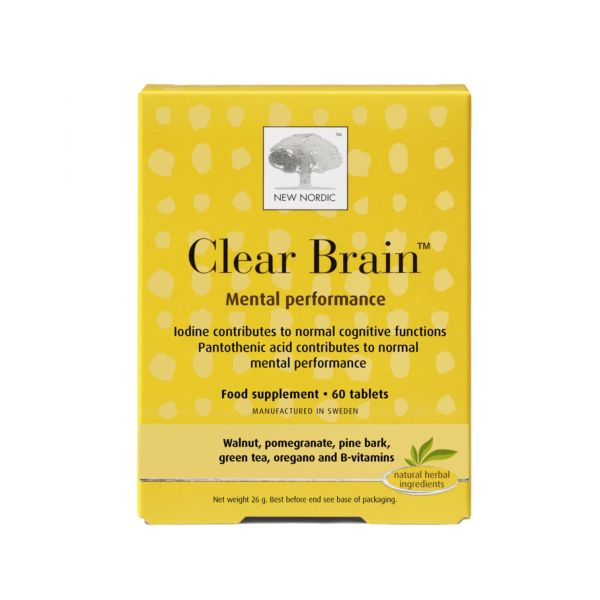 New Nordic - New Nordic Clear Brain (60 Tablets)