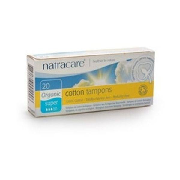 Natracare Organic Tampons Super 20'S 20