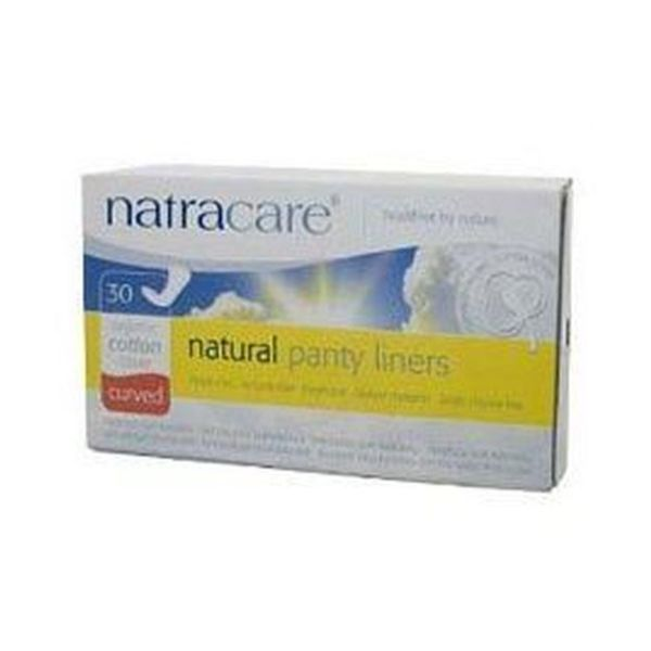 Natracare Panty Liners - Curved 30