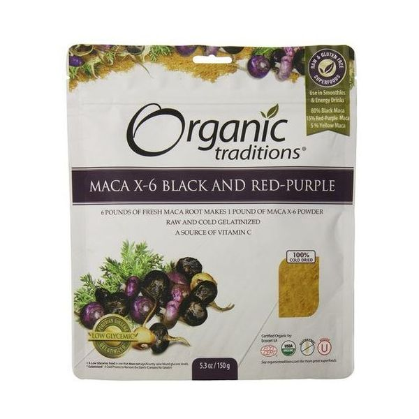 Organic Natural Traditions Maca X-6 Powder 150g