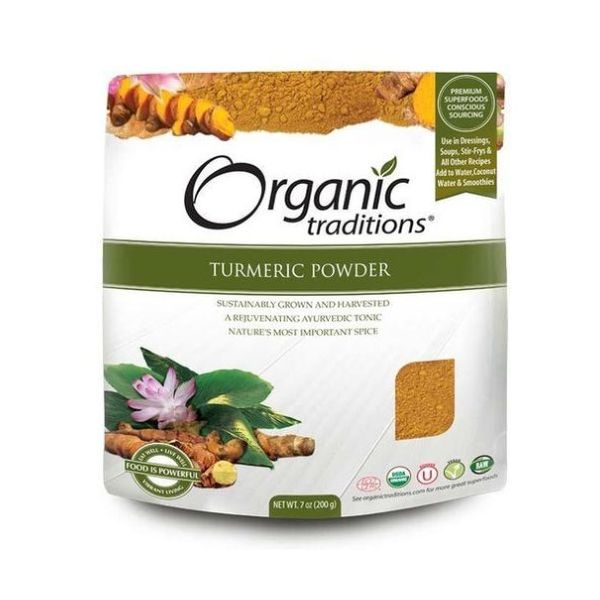 Organic Natural Traditions Turmeric Powder 200g