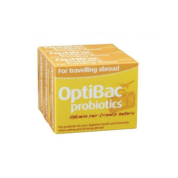 Optibac For Travelling Abroad Capsules