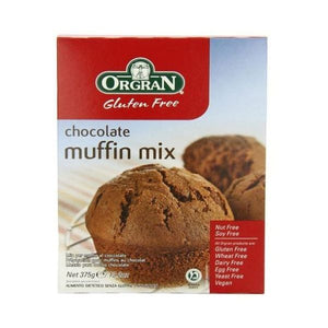 Orgran Chocolate Muffin Mix 375g