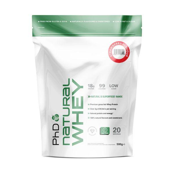 Phd Nutrition Superfoods Natural Whey 500g