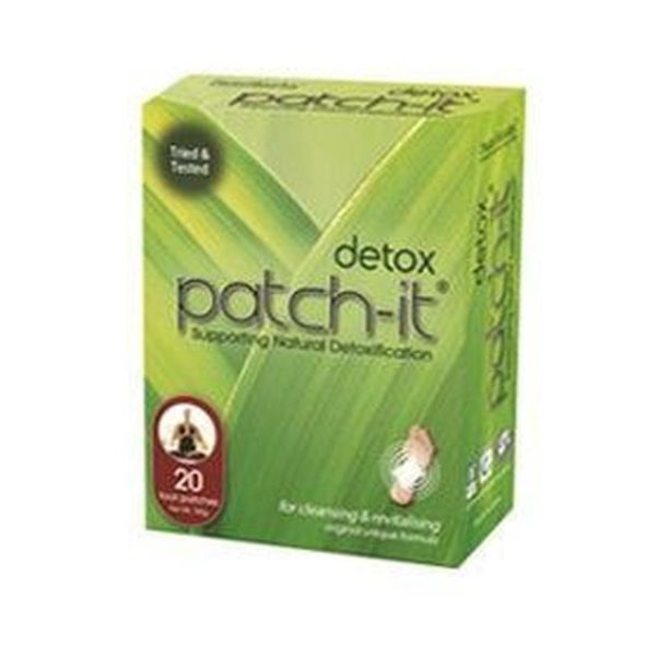 Patch It Detox Patch-It Box Of 20 Patches