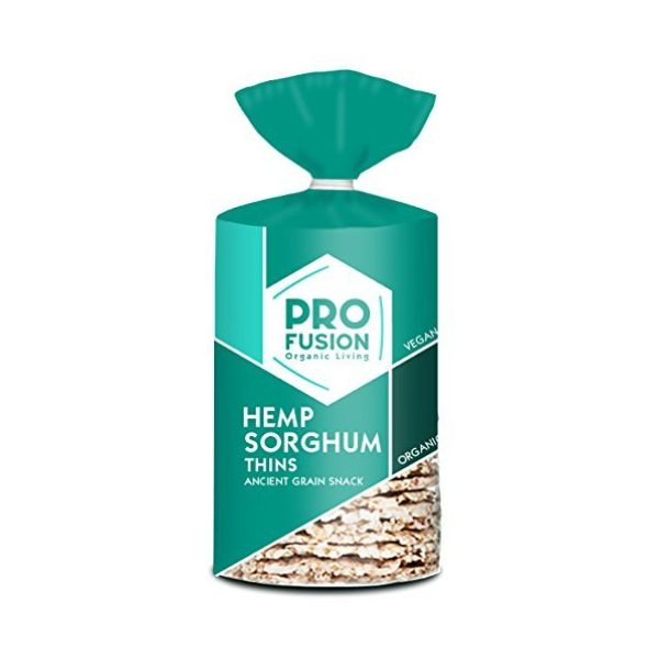 Profusion Organic Hemp Sorghum Thins 120g