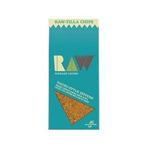 Raw Health Organic Raw-Tilla Chips - Nacho Style Dippers 70g
