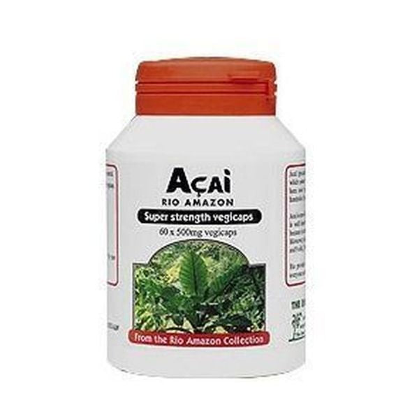 Rio Trading Acai 500mg 2:1 Extract 60 Vegicaps