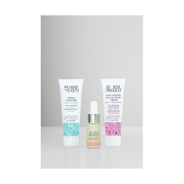 Rio Trading Rosehip Discovery Set - Day/Night Cream, Cleanser & Oil 1 Set