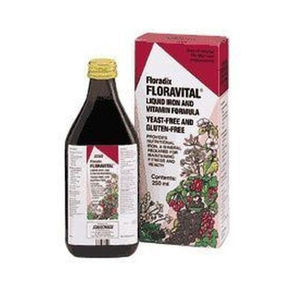 Floradix Floravital Liquid Iron Formula (Yeast Free and Gluten Free) 500ml