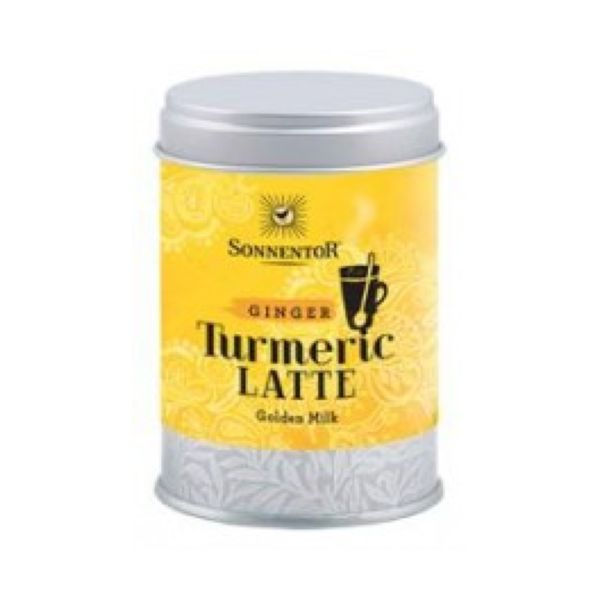 Sonnentor Organic Turmeric Latte Ginger Golden Milk (Tin) 60g