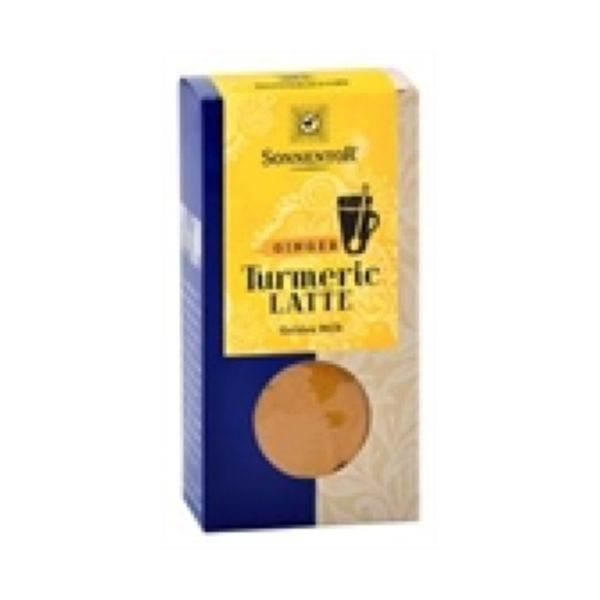 Sonnentor Organic Turmeric Latte Ginger - Golden Milk (Box) 60g