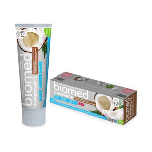 Biomed Superwhite Coconut Toothpaste For Gentle Whitening 100g