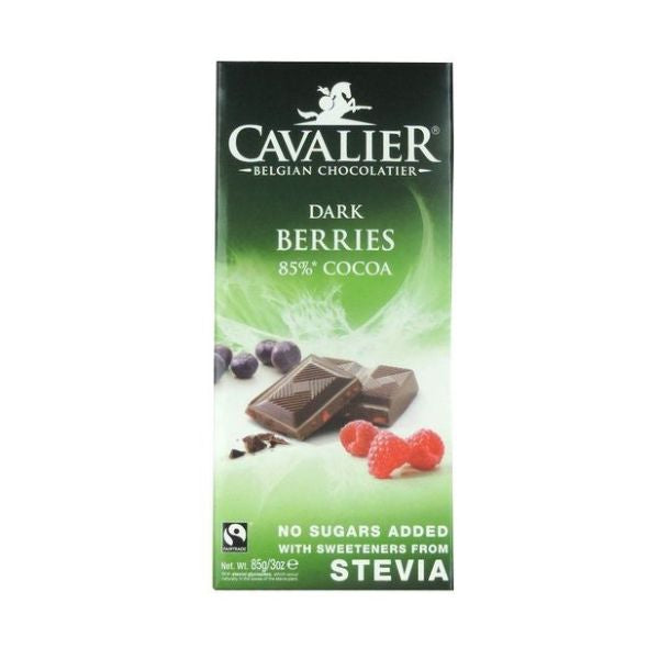 Cavalier Delicious Beligian Stevia Dark Berries Tablet 85g x 14