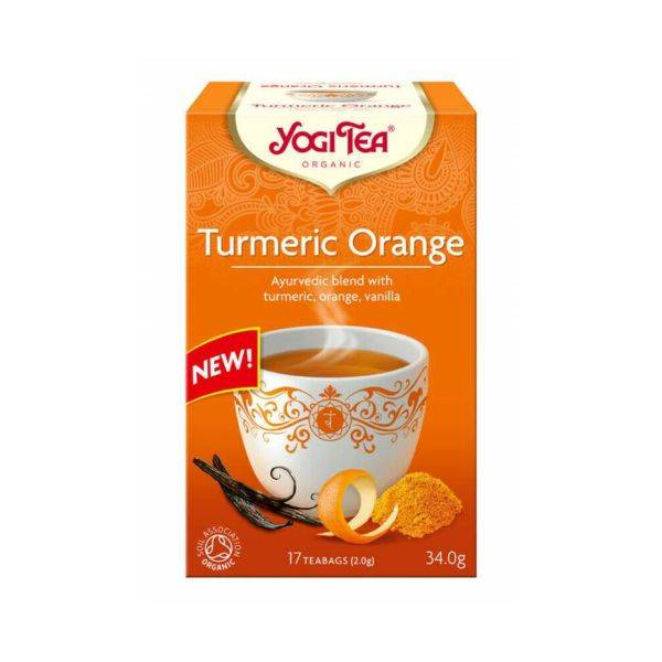 Yogi Tea - Organic Turmeric Orange 17bags