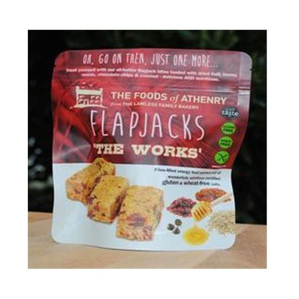 Foods Of Athenry The Works Mini Bite Flapjacks 150g