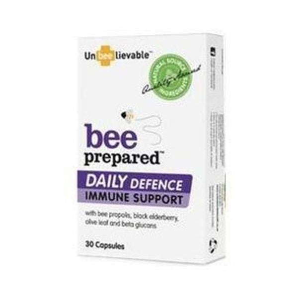 Unbeelievable Health Bee Prepared Daily Defence (30 Capsules)