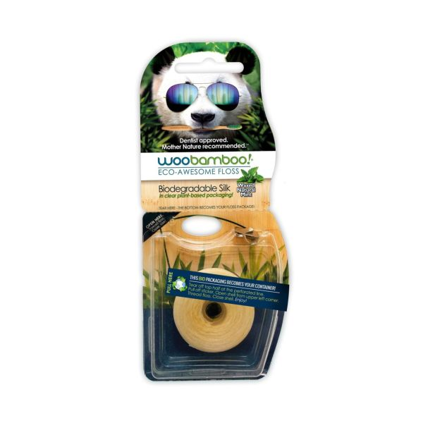 Woobamboo Eco Dental Floss Mint (37.5 Metres)