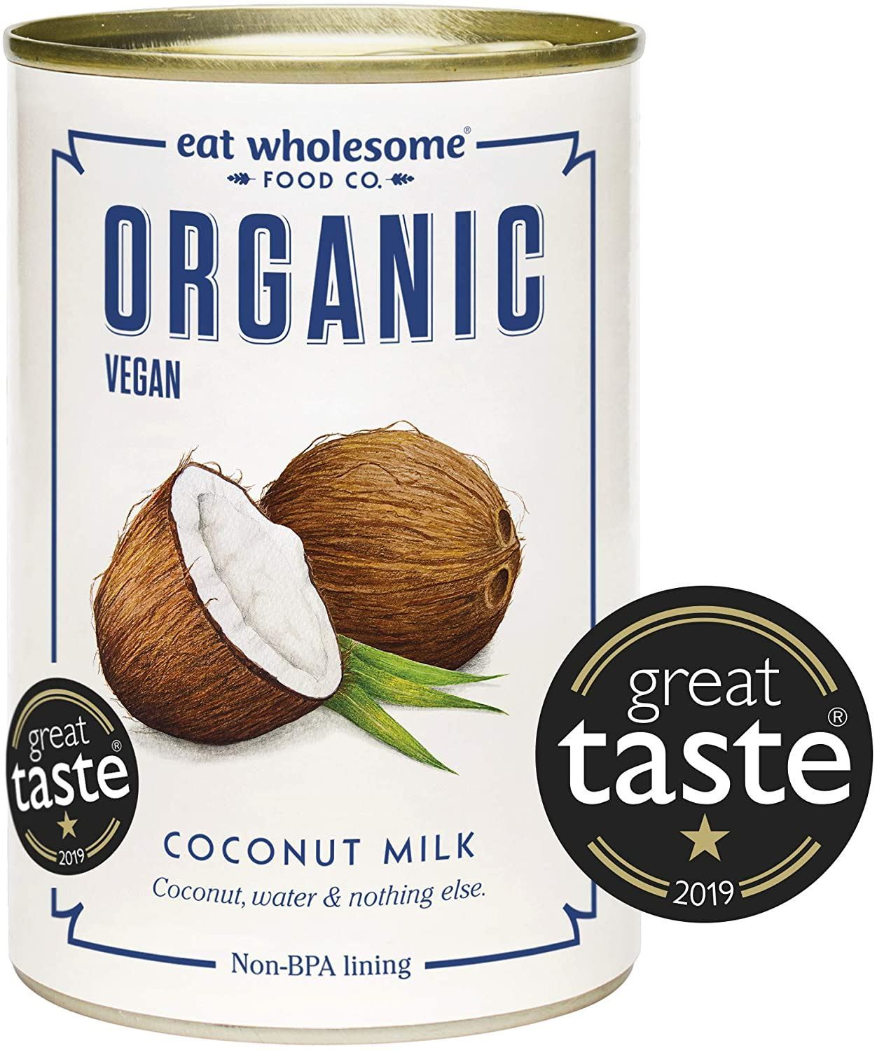 Eat Wholesome Organic Coconut Milk (400ml)