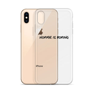 iPhone Case with caption