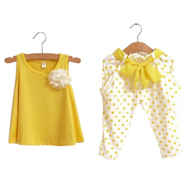 Polka Dots and Bows Two PC set