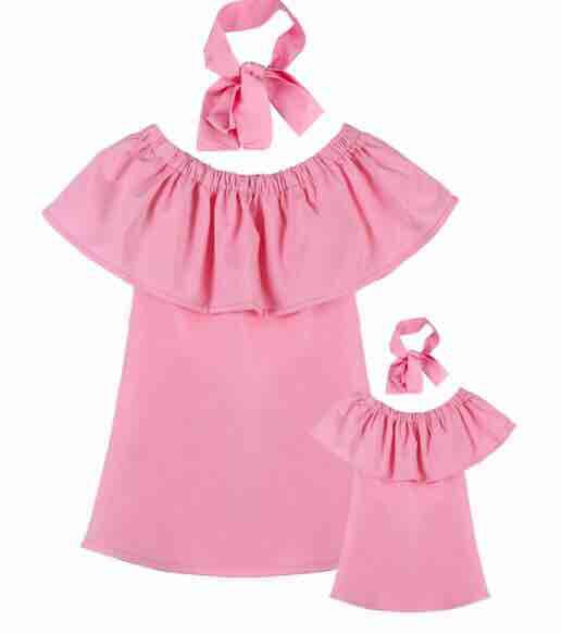 Mother Daughter Dress Sets multiple colors
