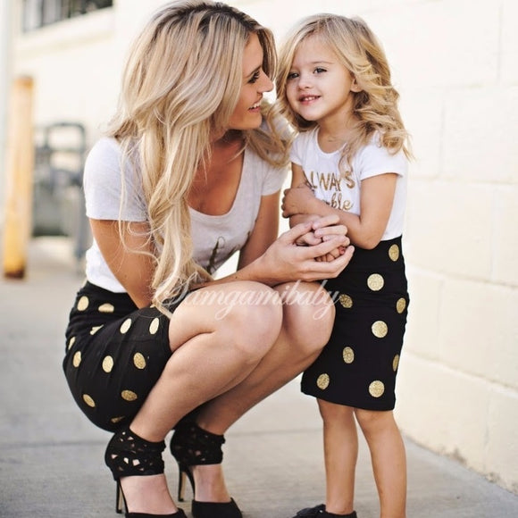 Matching Mother Daughter Always Sparkle Graphic sets