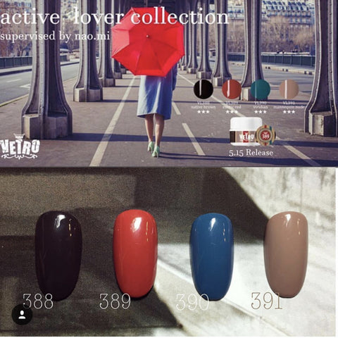 Active lover collection no.19 gel pod vetro