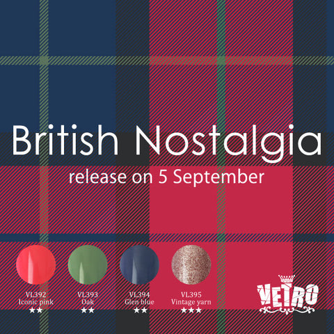 British Nostalgia Vetro No.19 pod gel